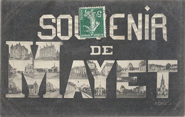 CPA Souvenir De Mayet Vues Multiples - Mayet
