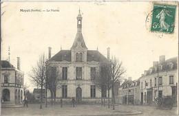 CPA Mayet La Mairie - Mayet