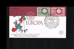 1960 - Belgium FDC - Europe CEPT [P15_359] - 1951-60