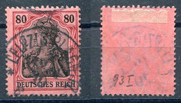 Deutsches Reich Michel-Nr. 93I Gestempelt - Geprüft - Oblitérés