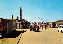 14 - Villers Sur Mer - L'entrée Du Camp Simar Et Les ânes - Villers Sur Mer