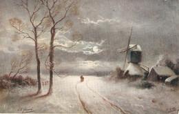 """Winter Reign"" Tuck Oilette Postcard # 3309. Signed - Tuck, Raphael"