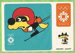 A164  CP  SARAJEVO '84  - XIVè Jeux Olympiques D'hiver - XIV Zimske Olipmpijske Igre 1984   +++++ - Bosnië En Herzegovina