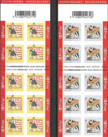 Boekjes 75* & 76** Zomerzegels 3665/66**  Vakantie / Carnets 75/76  Mnh Cerf-Volant / Strandspelen - Vliegeren-Kayakken - Postzegelboekjes 1953-....