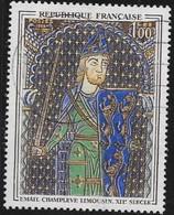N° 1424  FRANCE  -  OBLITERE  -  GREGORY VI LE BEL  -  1964 - Used Stamps