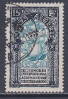 Algérie N° 311  O  3ème Congrès International D'agrumiculture à Alger  Oblitéré Sinon TB - Unused Stamps