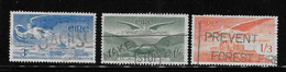 Ireland 1948 - 65 Air Post Stamps Angel 3v Used - Used Stamps