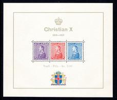 IJsland: 1937 - Koning Christiaan X Blok Postfris / MNH - Unused Stamps
