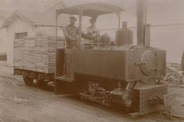 Reproduction Photo Train Locomotive Decauville Voie 60 15oc - Eisenbahnen