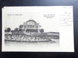 De Haan - Coq Sur Mer / Casino, Jeux De Jardin Quilles, Boules Gymnase -> Beschreven 1903 (1 Hoek Geschonden) - De Haan