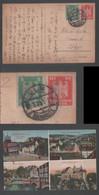 1925 Heidenheim Picture Postcard Deutsches Reich ULM Apan - Covers & Documents