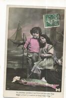 CPA ,Th. Fête, N°44, 1er Avril , Du Pêcheur , La Valeur Parfois N'attend Pas L'âge......Ed. 1906 - 1 De April (pescado De Abril)
