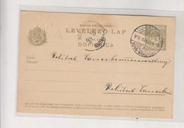 CROATIA HUNGARY 1906 NOVA GRADISKA  Postal Stationery - Croatia