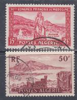 Algérie N° 326 / 27 O  Les 2 Valeurs Oblitérées Sinon TB - Unused Stamps