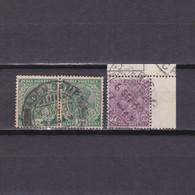 ADEN 1926, SG# Z117-Z119, KGV, Indian Stamps Used In Aden, Wmk Multiple Stars, Part Set, Used - Aden (1854-1963)