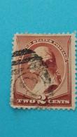 ETATS-UNIS - U.S.A. -Timbre 1887 : Histoire - George WASHINGTON, 1er Président Des Etats-Unis - Used Stamps