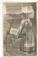 CPA ,Th. Fête, N°566 , 1er Avril , Les Poissons Vendus Ce Jour ......Ed. B.C.I. 1909 - 1 De April (pescado De Abril)