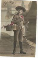 CPA ,Th. Fête, N°7623, 1er Avril , Ed. Lilas , E.R. 1913 - 1 De April (pescado De Abril)