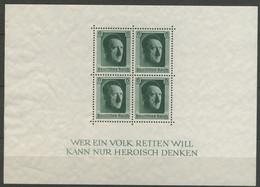 DEUTSCHES REICH 1937: Block 7, Mi 646, (*) Nsg - KOSTENLOSER VERSAND AB 10 EURO - Blocks & Kleinbögen