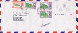 42064. Carta Aerea BELIZE (Honduras Britanicas) 1961 To England - British Honduras (...-1970)