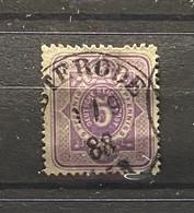 Duitse Rijk Zegel Nr 40      Used - Oblitérés