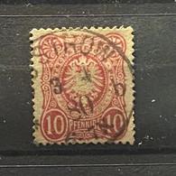 Duitse Rijk Zegel Nr 41     Used - Oblitérés