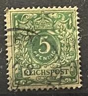 Duitse Rijk Zegel Nr 46 Used - Oblitérés