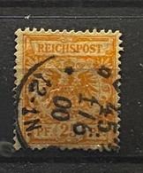 Duitse Rijk Zegel Nr 49 Used - Oblitérés