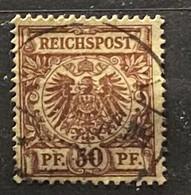 Duitse Rijk Zegel Nr 50 Used - Oblitérés