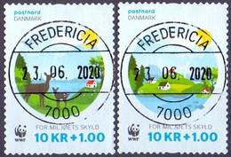DENEMARKEN 2015 WWF GB-USED - Gebruikt
