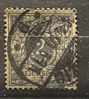 Duitse Rijk Zegel Nr 52 Used - Oblitérés