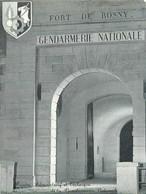 GENDARMERIE - CENTRE ADMINISTRATIF Et TECHNIQUE De La GENDARMERIE - 93 - ROSNY SOUS BOIS - CARTE VOEUX 1970 - Polizei - Gendarmerie