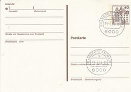BP 121 40 Pf. Burgen Und Schlösser - Postkarten - Gebraucht
