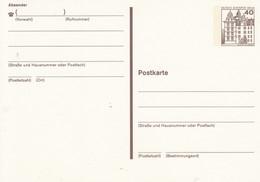 BP 121 II  40 Pf. Burgen Und Schlösser - Postkarten - Ungebraucht