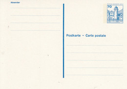 BP 123 I ** 70 Pf. Burgen Und Schlösser - Postkarten - Ungebraucht