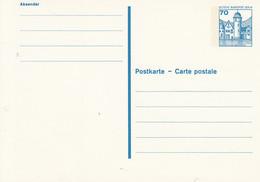 BP 123 II ** 70 Pf. Burgen Und Schlösser - Postkarten - Ungebraucht