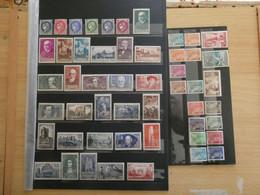France Année 1938 Complète Neufs Sans Charnière Cote 753 € - ....-1939