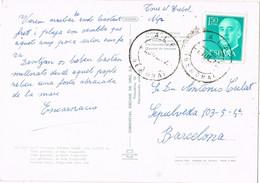 42072. Postal ALP (Gerona) 1972. Vista General Poblacion Y Puigcerda Al Fondo. Remitida De Torre Del Trebol - 1971-80 Storia Postale