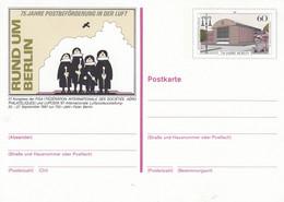 BP 127**  Rund Um Berlin - 75 Jahre Postbeförderung In Der Luft, Frankfurt Am Main - Postkarten - Ungebraucht