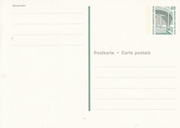 BP 131** 80  Pf. Sehenswürdigkeiten - Postkarten - Ungebraucht