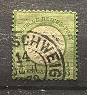 Duitse Rijk Zegel Nr 17    Used - Gebraucht