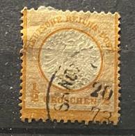 Duitse Rijk Zegel Nr 18    Used - Gebraucht
