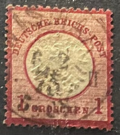 Duitse Rijk Zegel Nr 19 Used - Gebraucht