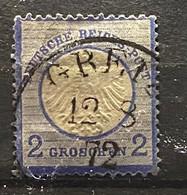 Duitse Rijk Zegel Nr 20 Used - Gebraucht