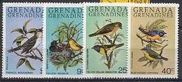 MDB-BK4-217 MINT ¤ GRENADA & GRENADINES 1980 4w In Serie ¤ - OISEAUX - BIRDS - PAJAROS - VOGELS - VÖGEL - - Pájaros Cantores (Passeri)