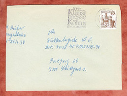 Brief, Marksburg, MS Kunstmesse Koeln, Nach Stuttgart 1979 (5301) - Brieven En Documenten