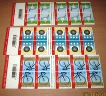 Boekje 71/72/73** Sport : Veldrijden (Cyclocross) - Bowling En Golf 3603/05** - Postzegelboekjes 1953-....