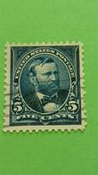 ETATS-UNIS - U.S.A. - Timbre 1894 : Ulysses GRANT, 18ème Président Des Etats-Unis - Used Stamps