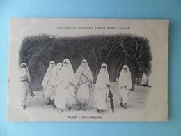 CPA Précurseur Souvenir De Mustapha Palace Hotel ALGER - Mauresques - Algérie - Frauen