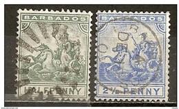 LOTE 2216  ///   (C041) COLONIAS INGLESAS - BARBADOS 1892 ¡¡¡ OFERTA - LIQUIDATION !!! JE LIQUIDE !!! - Barbados (...-1966)